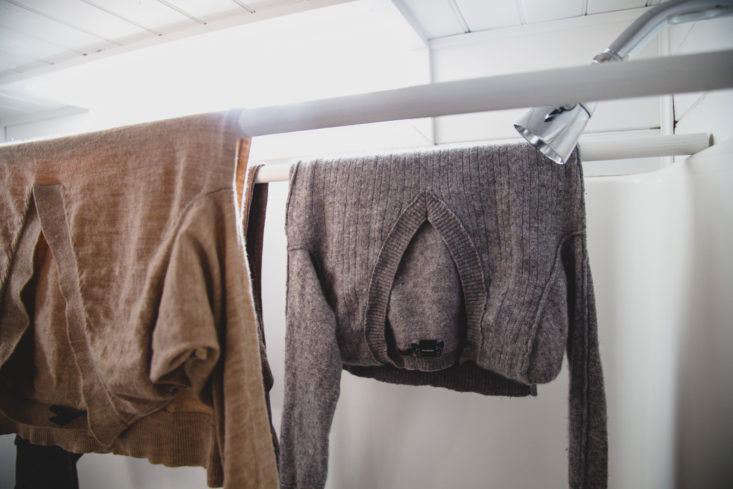 Carmella Rayone's DIY Drying Rack with Dowels
