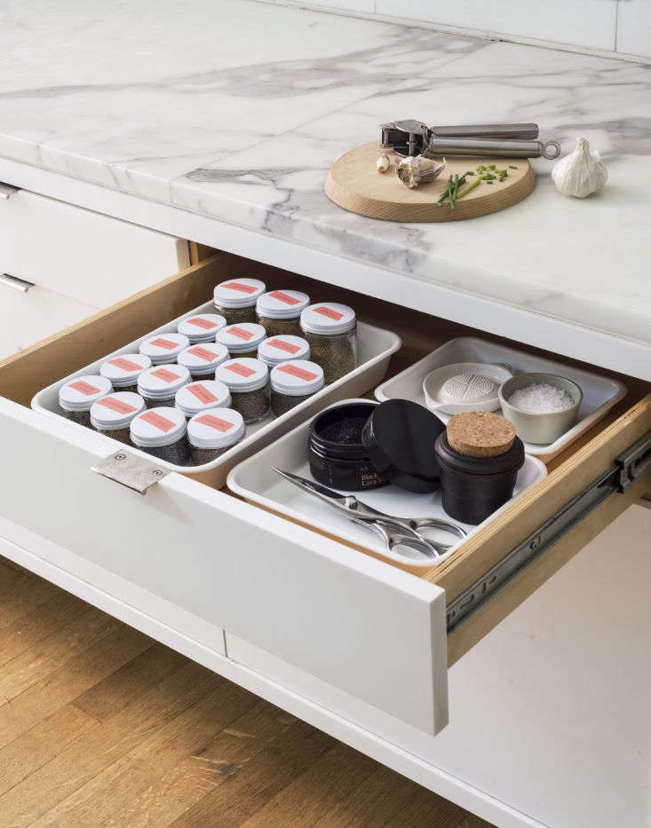 Herb and Spice Drawer Kit Photo Matthew Williams Styling Alexa Hotz