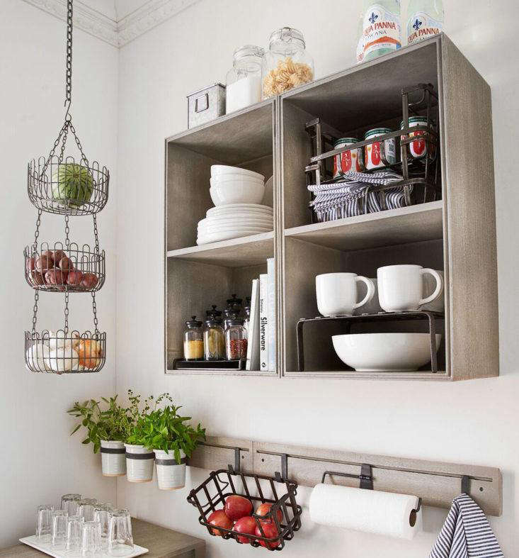 Mission Modular System Wall Cabinet at PB Apartment