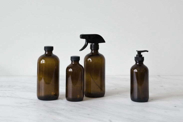 Mur Lifestyle Amber Glass Bottles