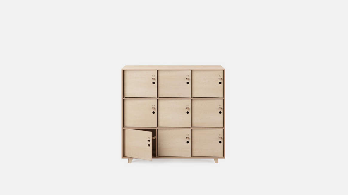 Fin Lockers from OpenDesk
