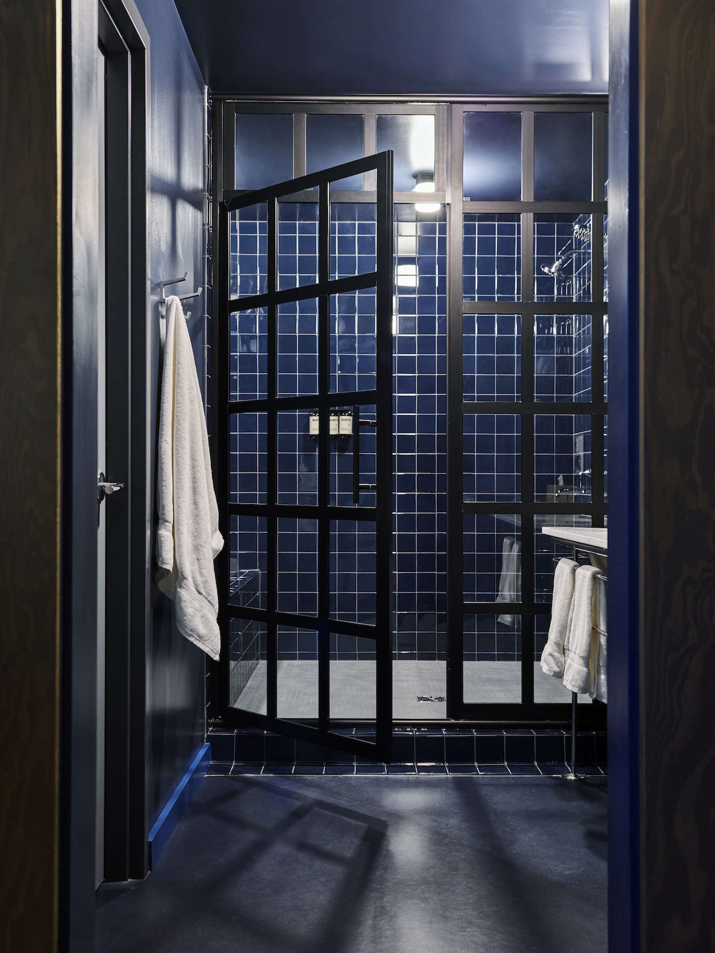Shower Stall at the Ace Hotel Chicago