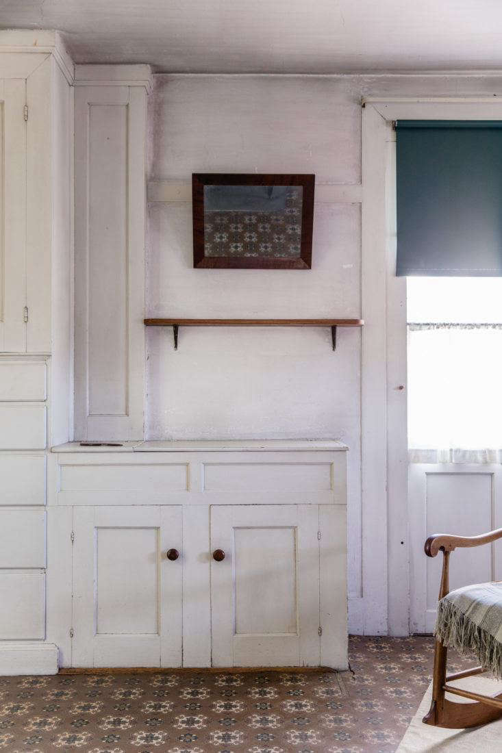 Closed Vanity at Canterbury Shaker Village, Photo by Erin Little