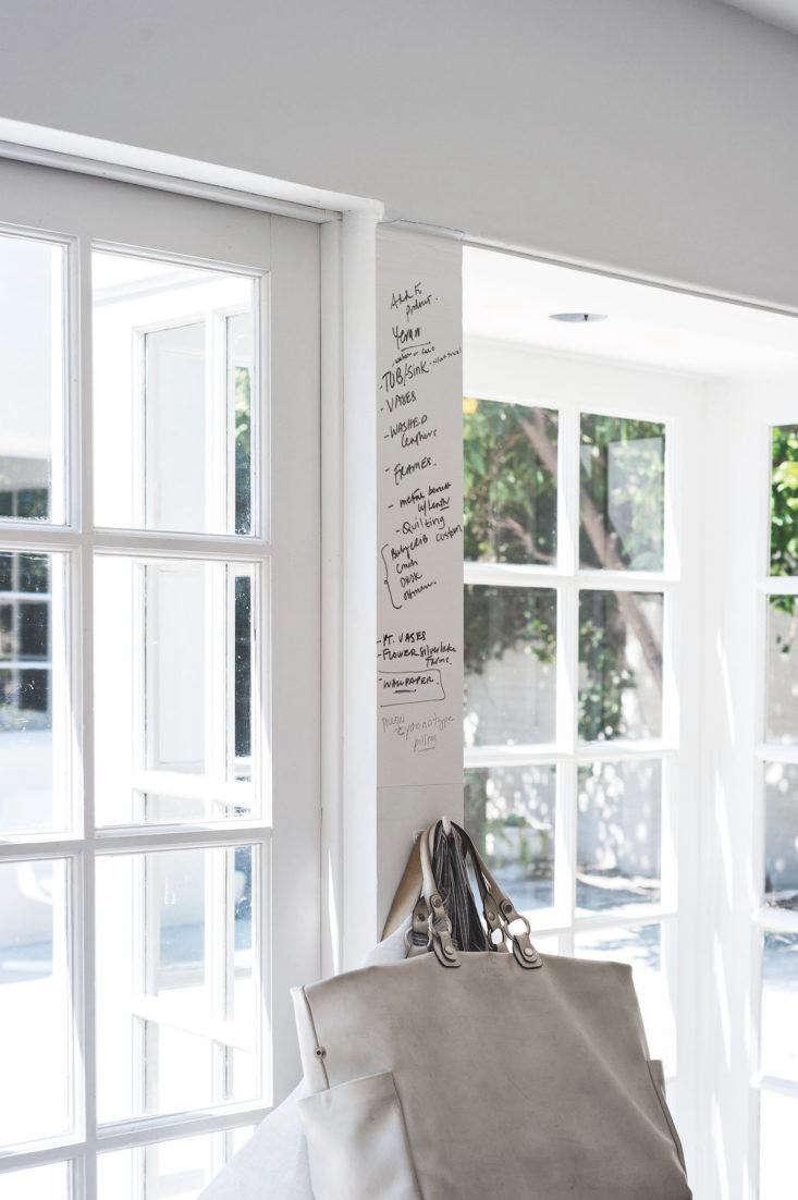 DIY Whiteboard at Tiina Laakkonen's House, Image by Matthew Williams