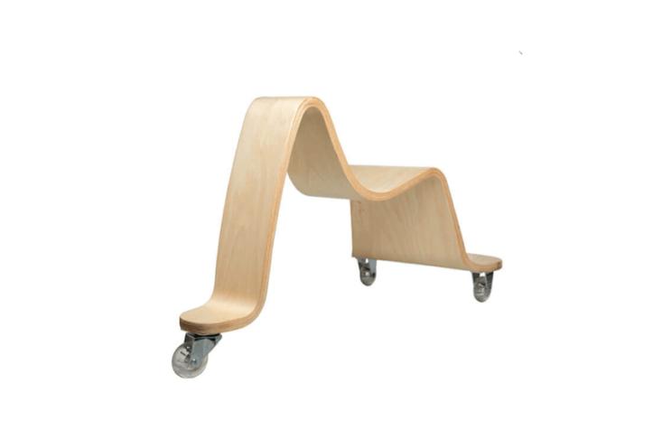 wooden scooter ride on svan