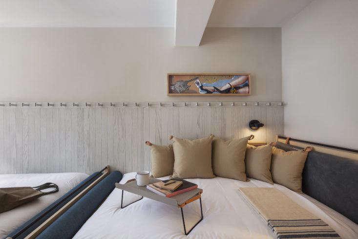 Moxy Hotel NYC, double-double, Yabu Pushelberg design.