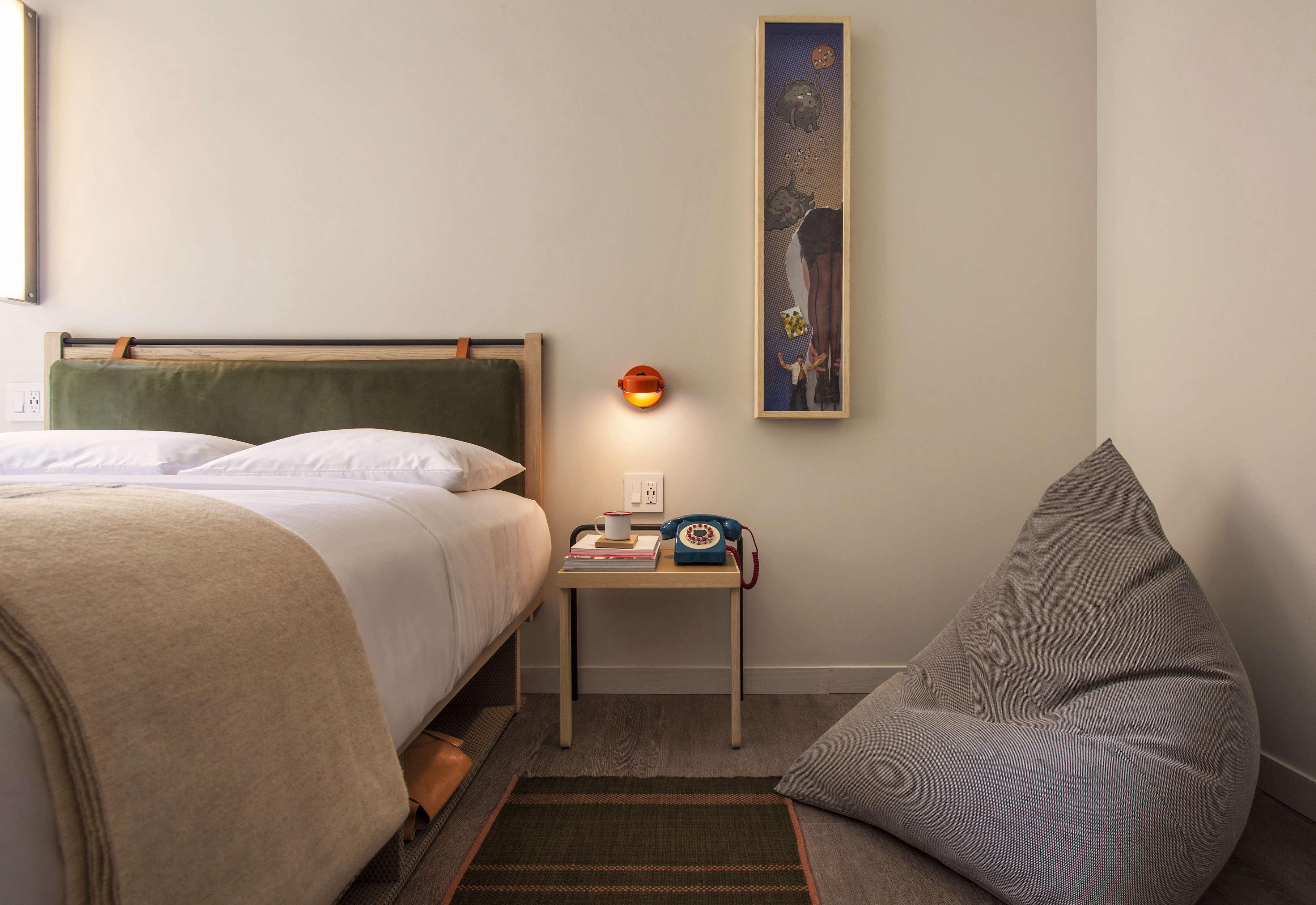 Moxy Hotel NYC, Yabu Pushelberg design.