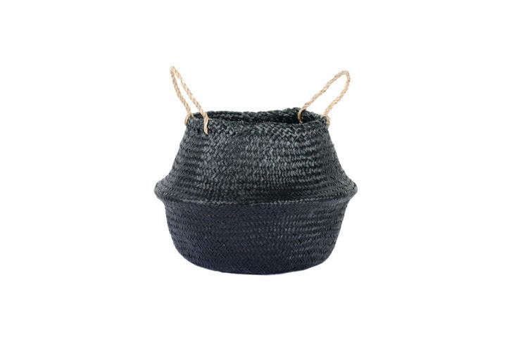 Connected Goods Woven Collapsible Rice Belly Basket