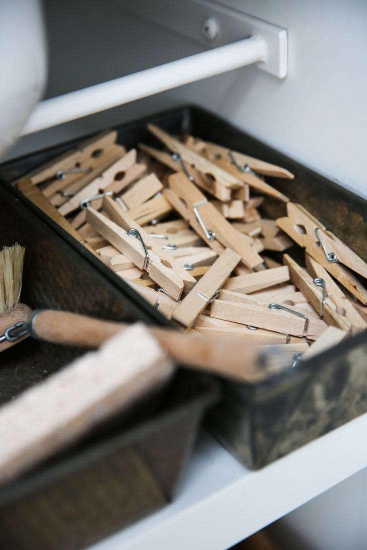 Clothespins in Tin in Erin Scott Photo Studio