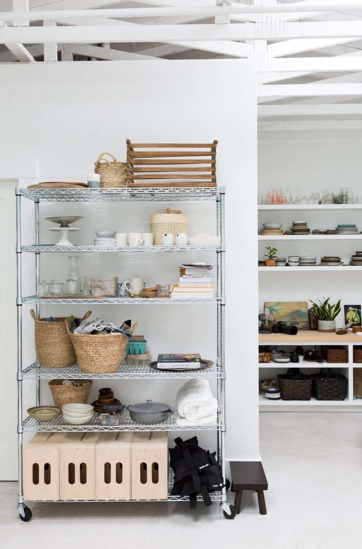 Rolling Shelves in Erin Scott Photo Studio