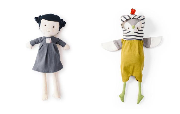 handmade dolls animals hazel village
