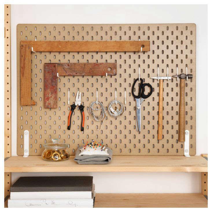 Ikea Skadis Pegboard Tools
