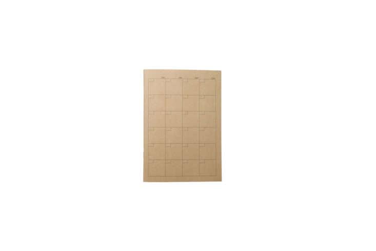 Muji Craft Housekeeping Notebook