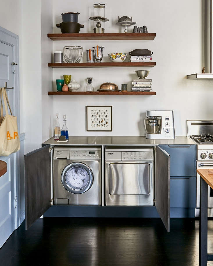 Washer And Dryer, Building Cabinets To Hide Washer And Dryer
