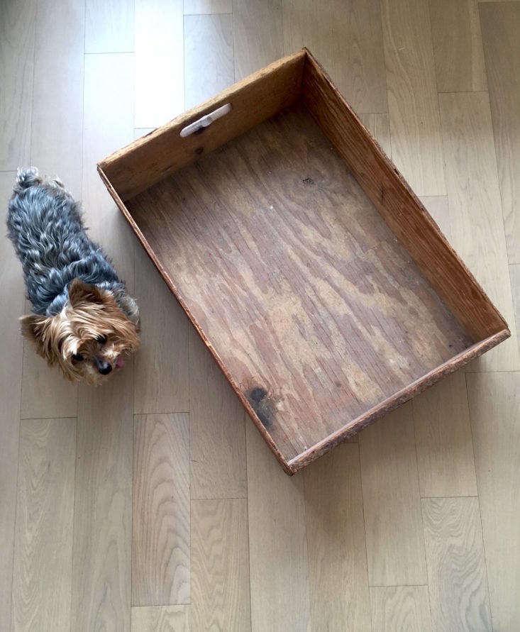 Annie Quigley Vintage Wooden Storage Box