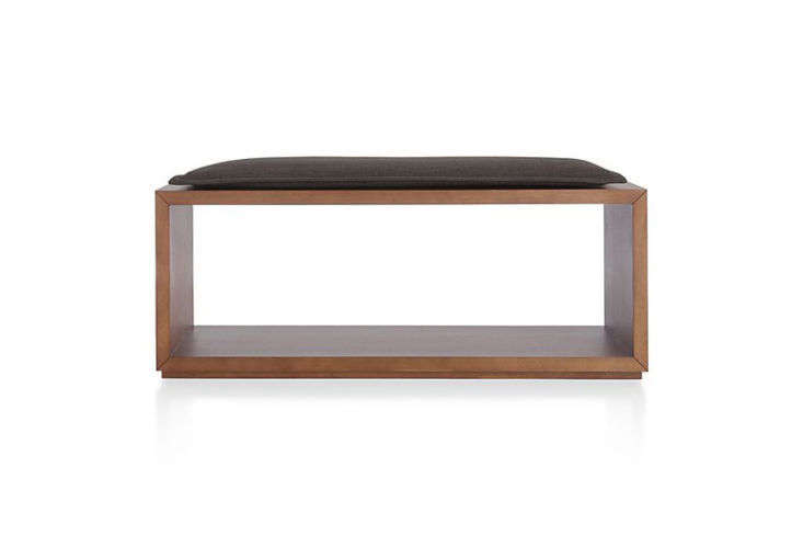 Crate and Barrel Aspect Open Bench