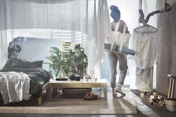 Ikea Hjartelig Yoga Bag