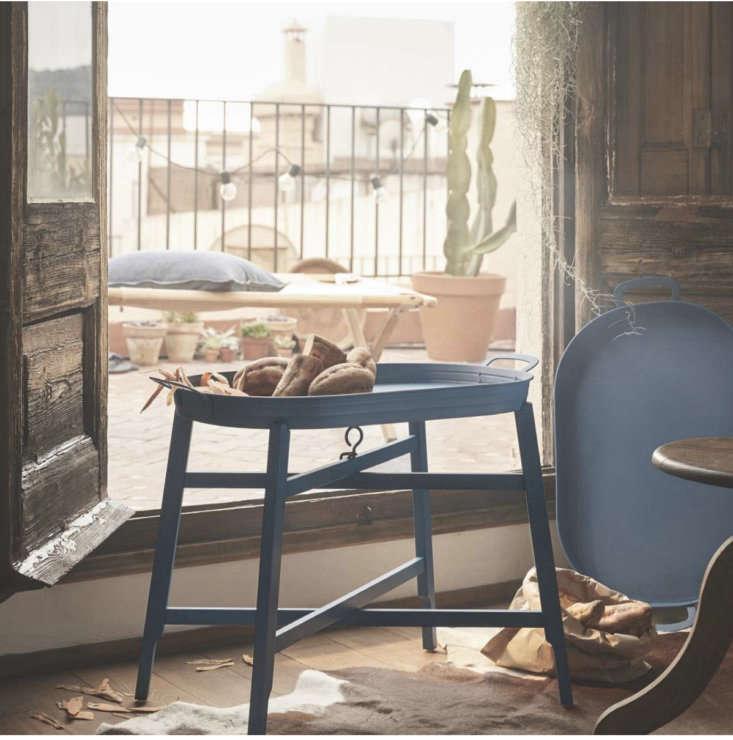 Ikea tray table indoor outdoor living