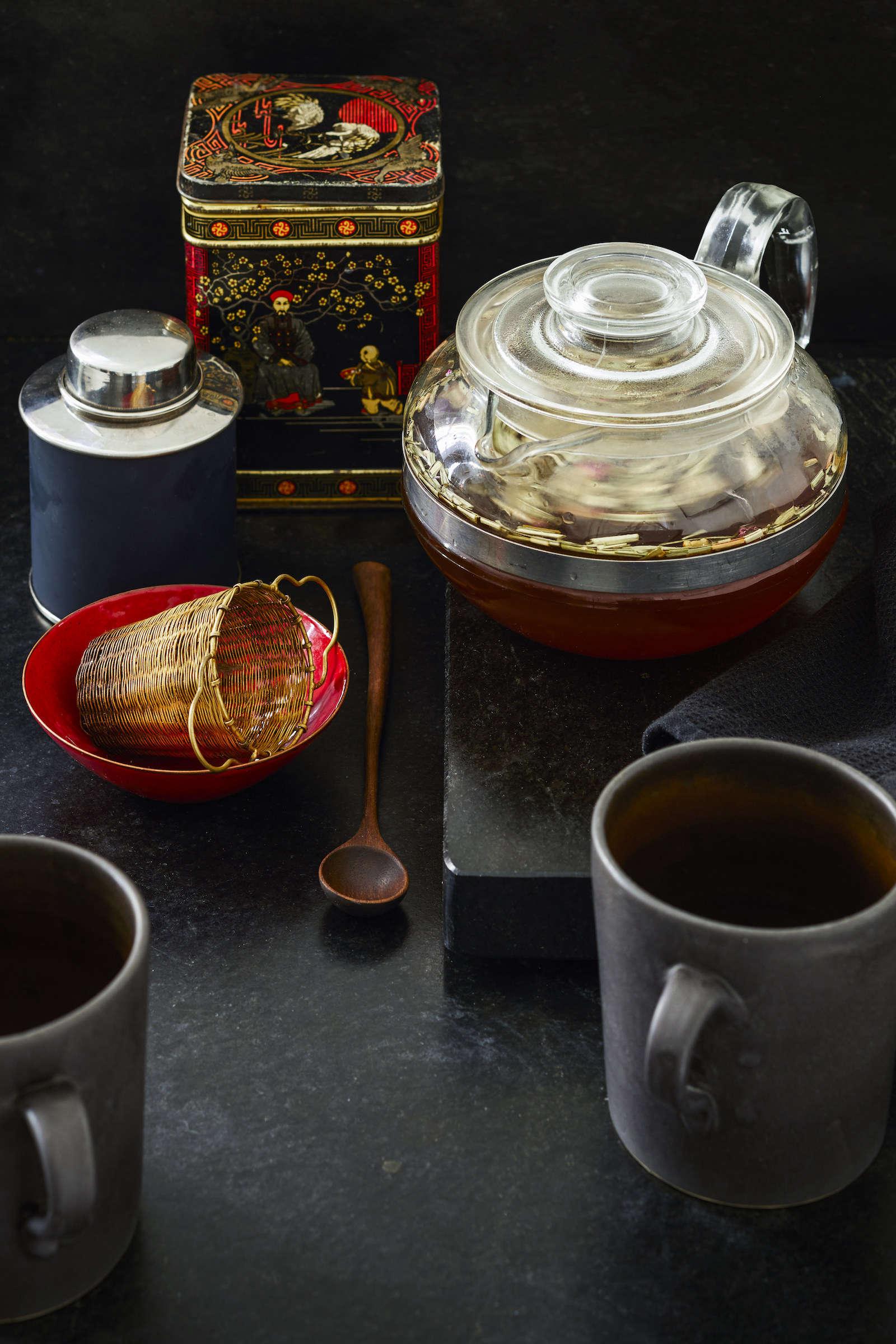 Matthew Axe Jackson Heights Apartment Tea Service by Eric Piasecki