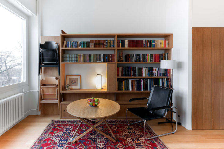 Living Room in Moscow Apartment by Studio Bazi