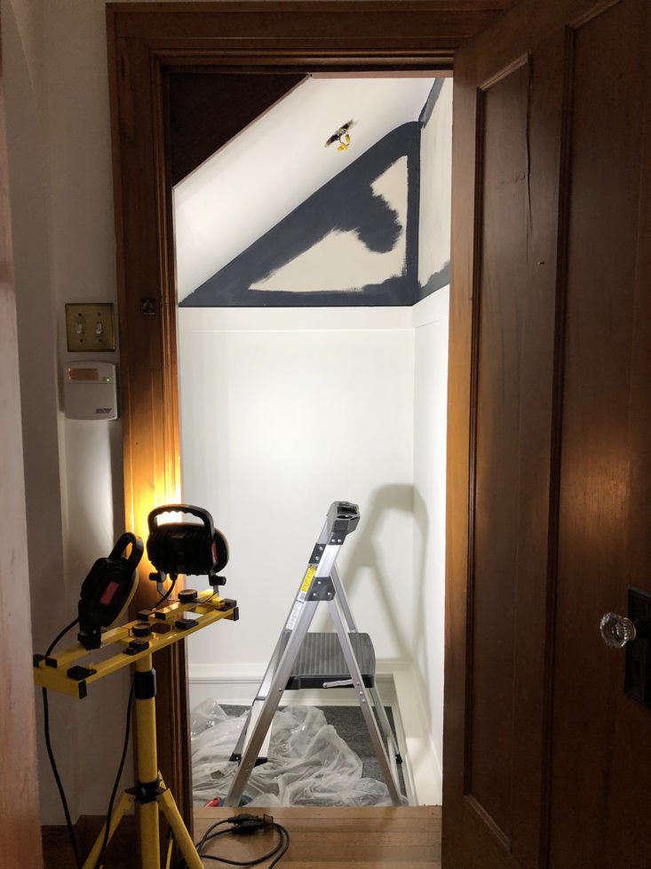 Sweet Beast Basement Stairway Makeover Paint