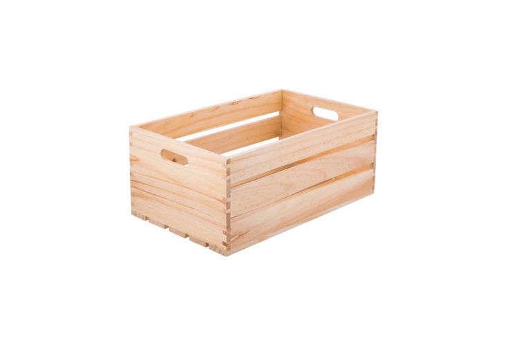 Webstaurant American Metalcraft Wood Crate