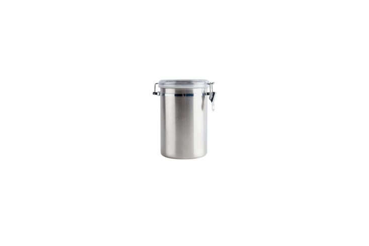 Webstaurant Stainless Steel Storage Canister