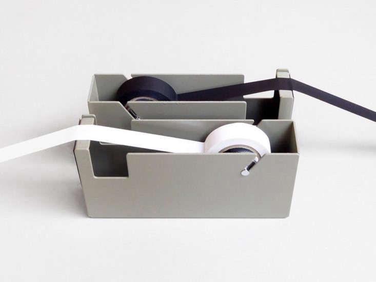Block metal tape dispenser from Present and Correct, London