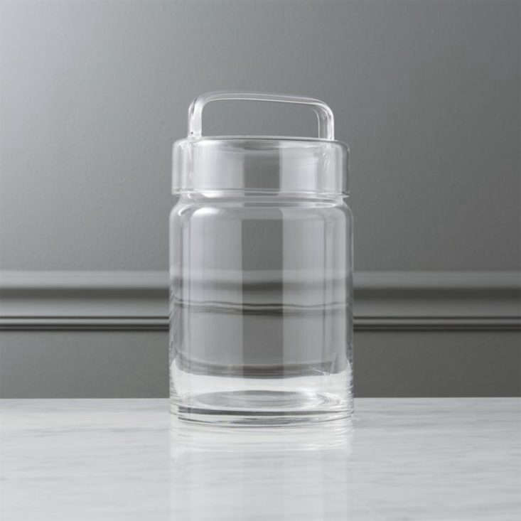 CB2 Looking Glass Canister.