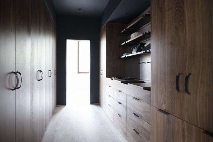 Henrybuilt wood walk-in closet