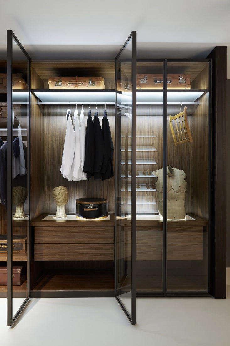Porro Italian closet system
