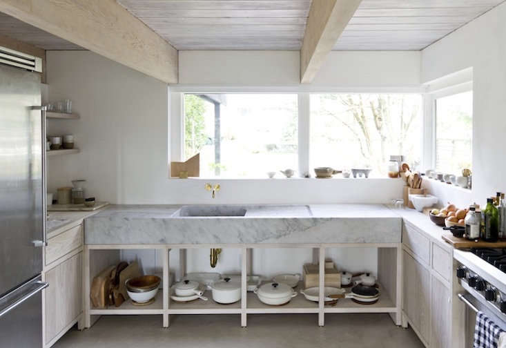 Photograph courtesyofScott & Scott Architects, fromKitchen of the Week: A Monumental Marble Countertop.