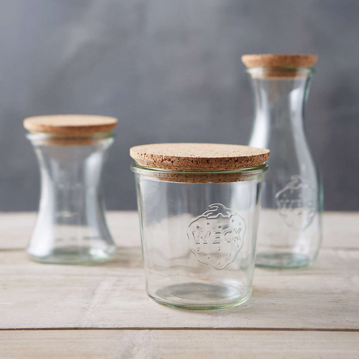 Cork Lids for Weck Jars at Terrain