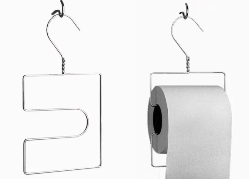 Hanger Toilet Paper Roll Holder