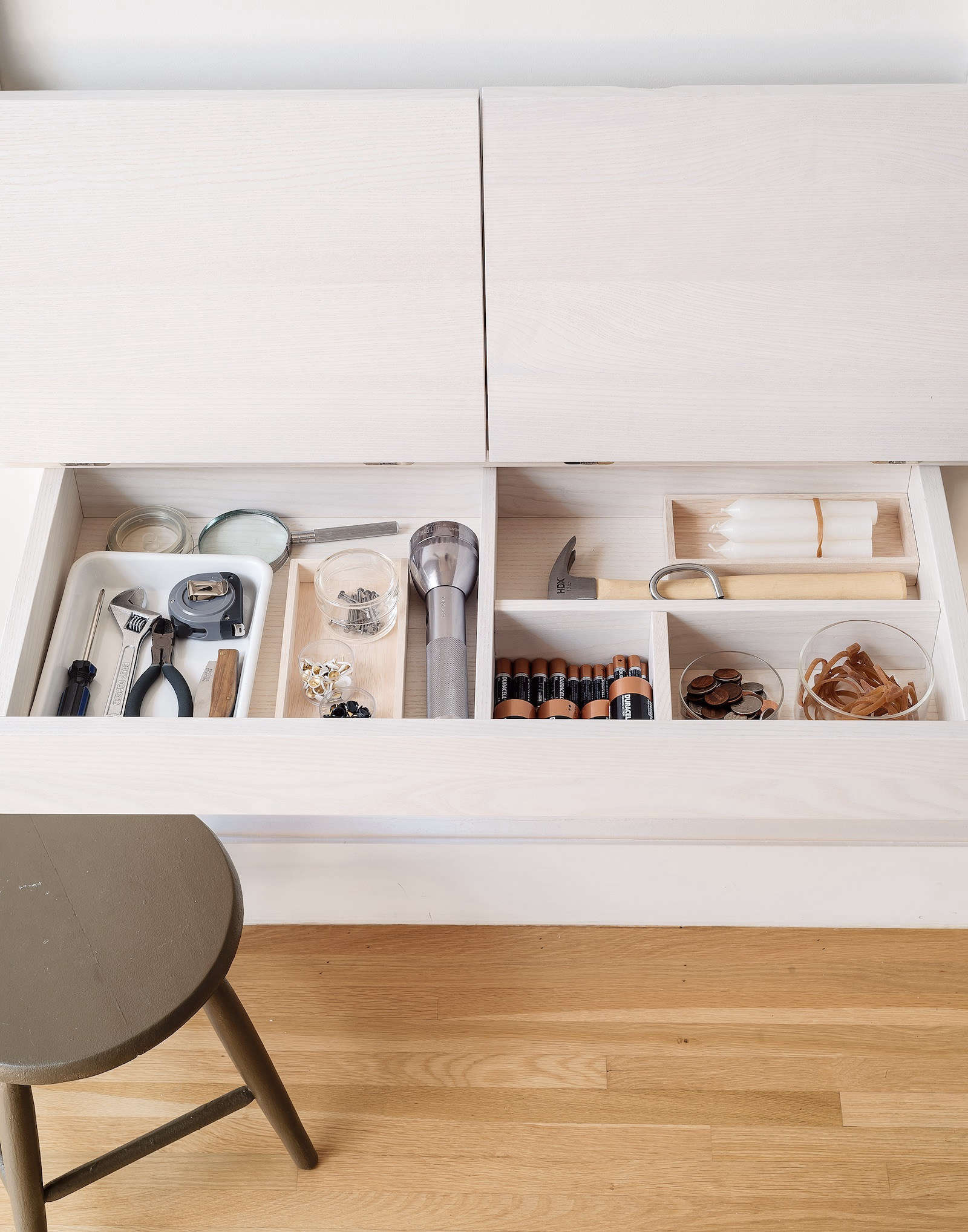 Junk Drawer in Organized Home Book by Matthew Williams