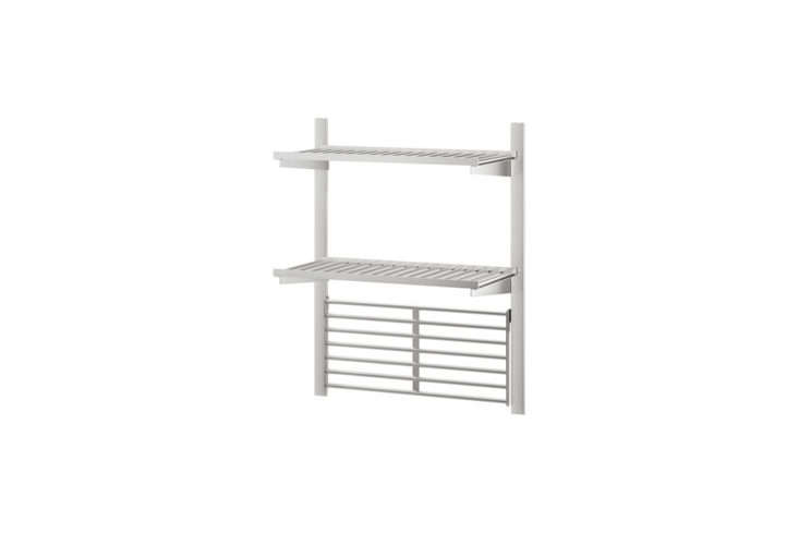 Kungsfors Suspension Rail with Shelf Wall Grid