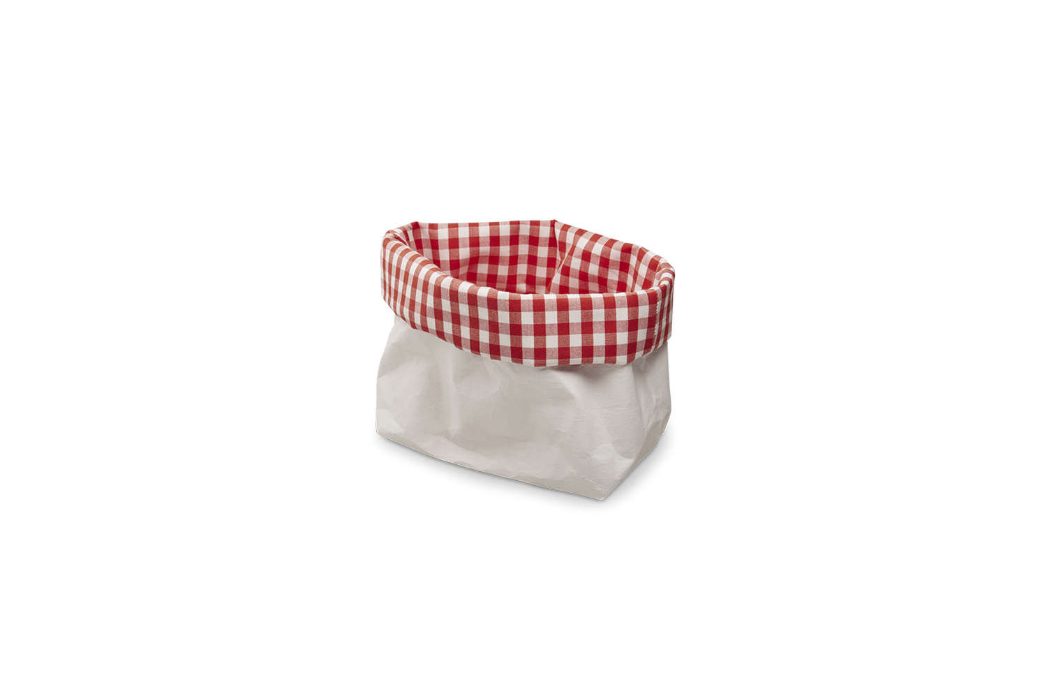 Merci Vichy Basket Red and White