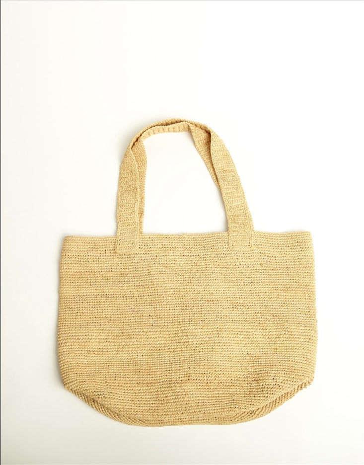 colarant Raffia Bag