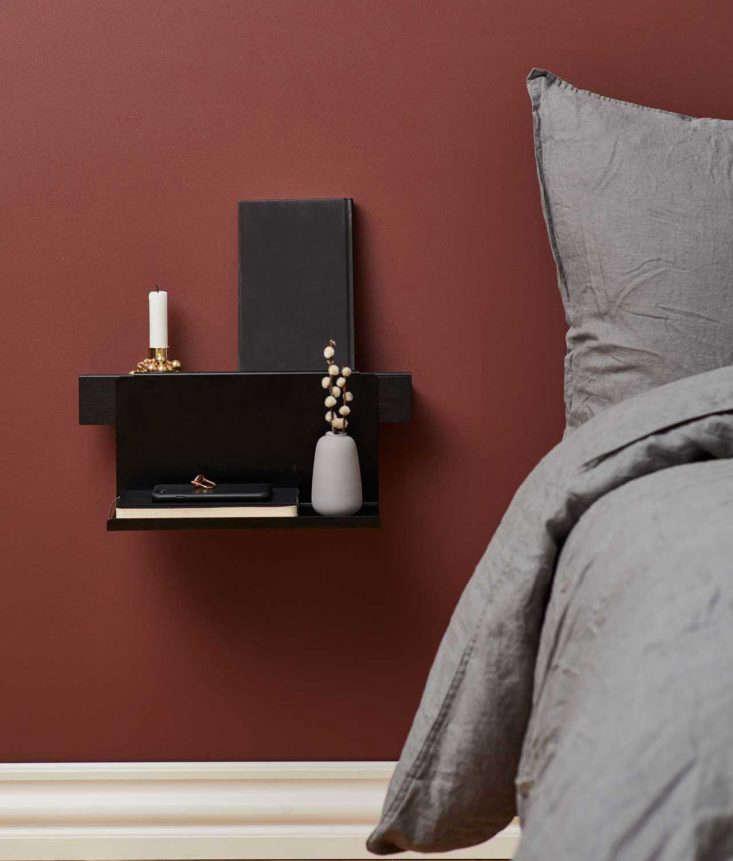 Gejst Flex ledge storage system in the bedroom