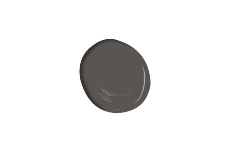 """Benjamin Moore'sIron Mountain is one of our10 Paint Colors with Cult Followings: Architects' All-Time Favorite Paint Picks.Los Angeles architect Oonagh Ryan says, """"I use this paint color on almost every project. It's a warm gray with brown undertones and matches natural steel and sheet metal perfectly."""""""