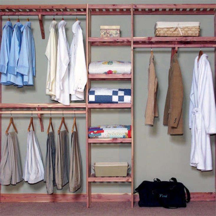 Northern Kentucky Cedar Closet Wall Kit