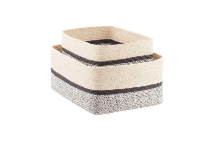 Nova Woven Storage Bins from Container Store