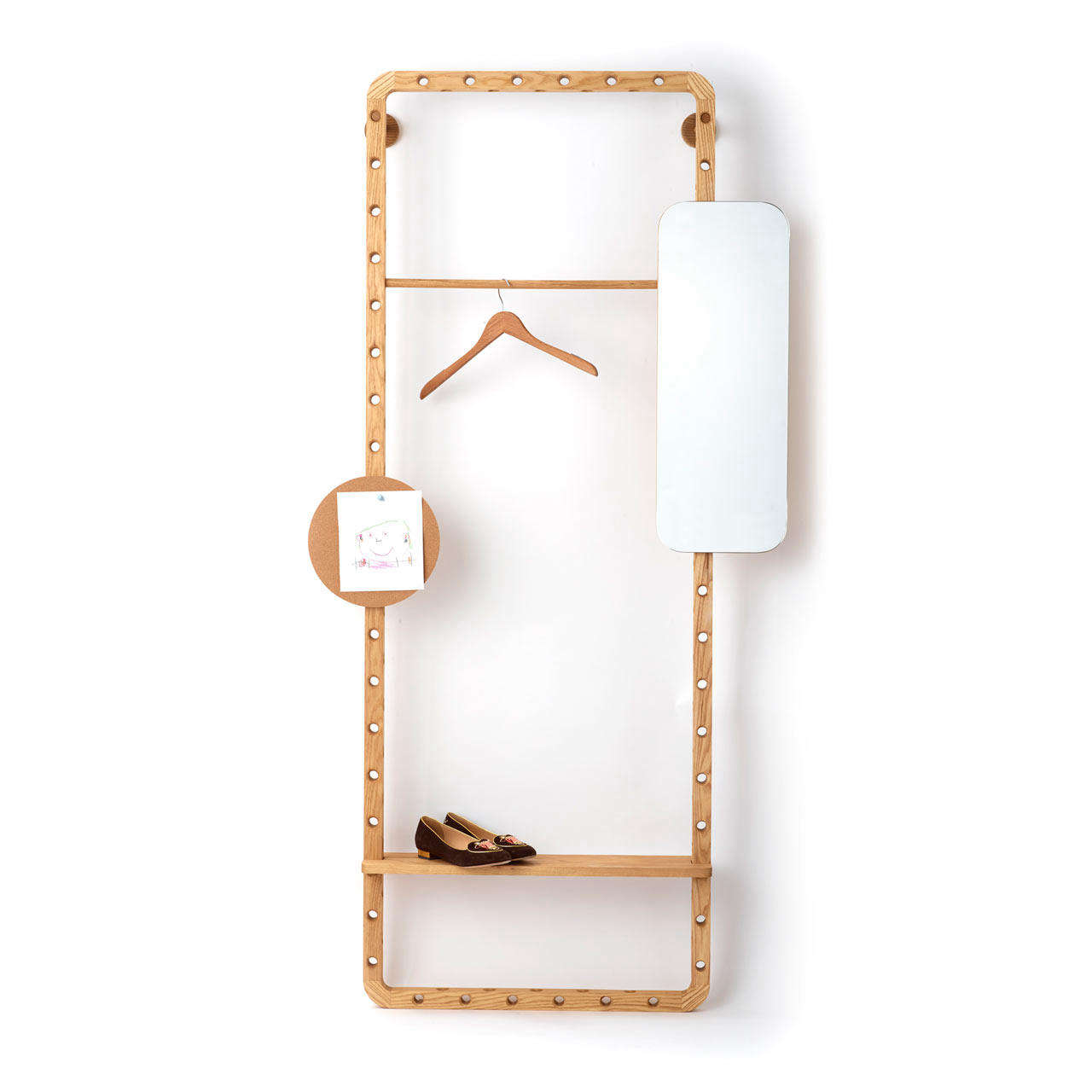 Dotdotdot.Frame modular storage for the closet and beyond.