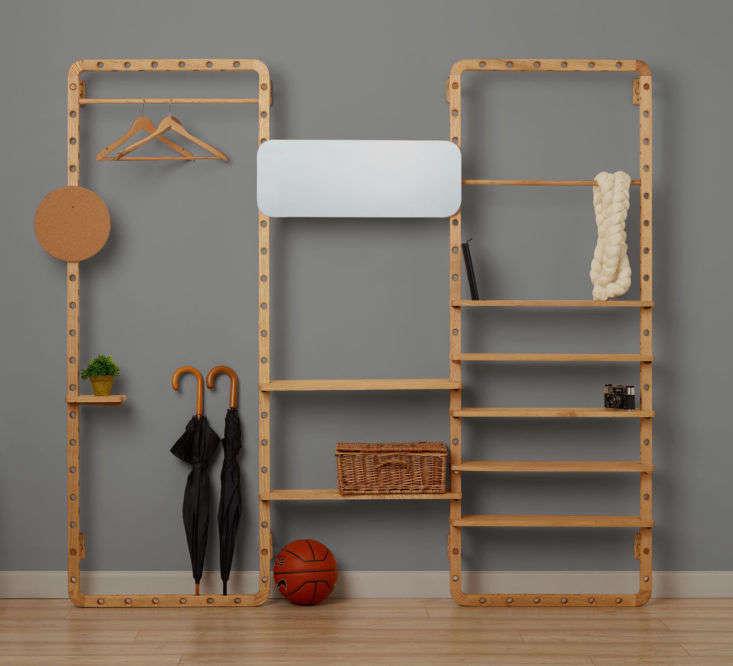 Dotdotdot.Frame modular storage shelves by Leonid Davydov.