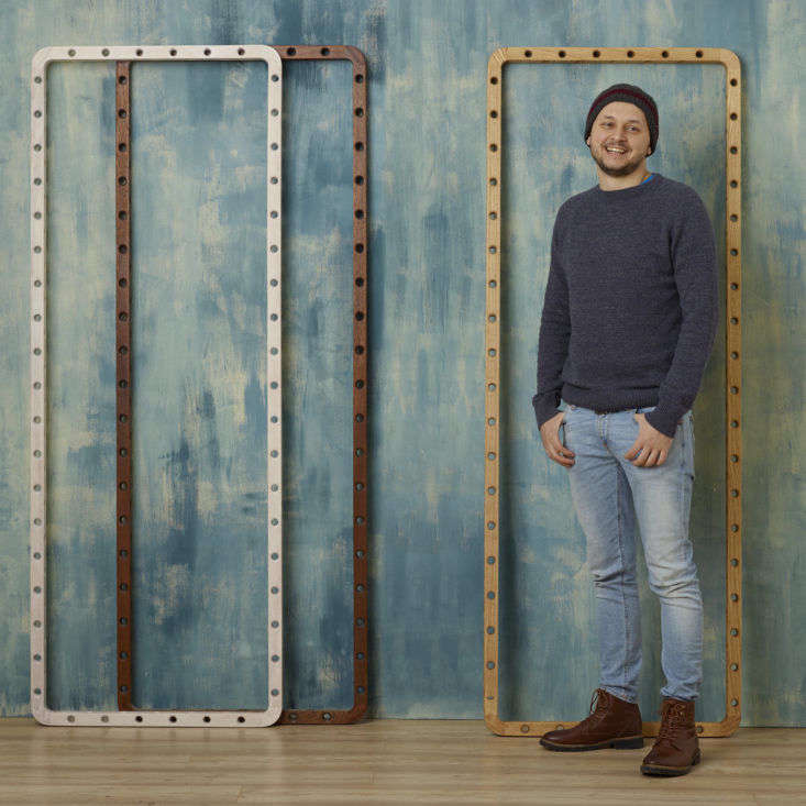 Designer Leonid Davydov of Dotdotdot.Frame modular storage London.