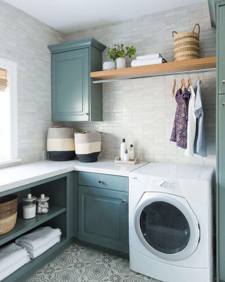 Studio McGee Laundry Room Baskets