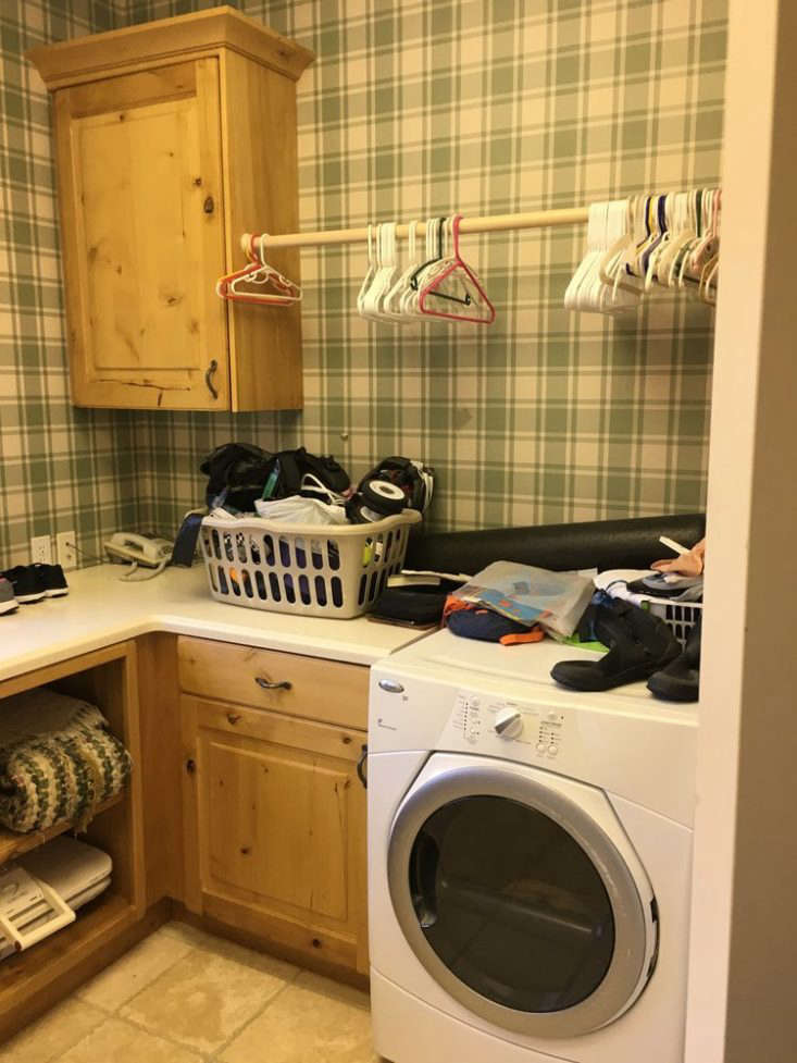 Studio McGee Laundry Room Before