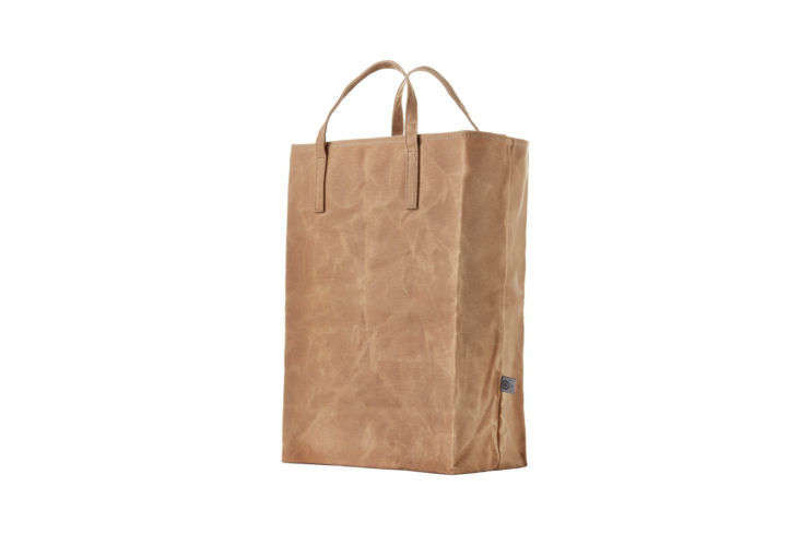 Colony Co. Reusable Grocery Bag Waxed Canvas