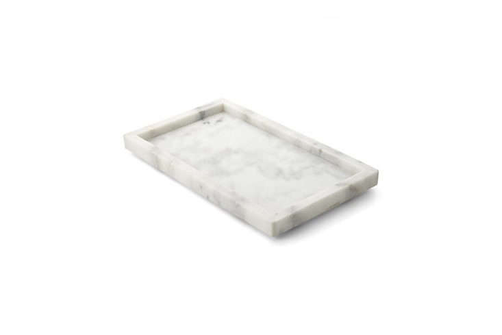 Crate & Barrel French Kitchen Marble Tray