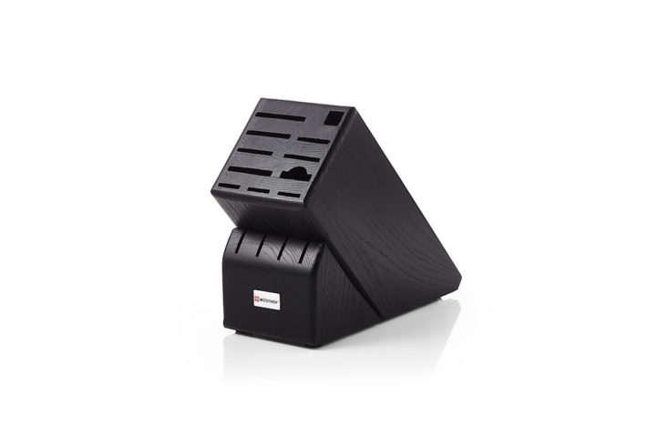Crate & Barrel Wusthof Black Knife Block